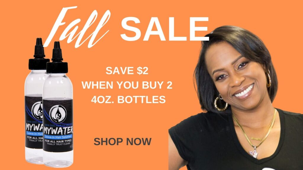 Fall Sale - MYWater Hair Solution