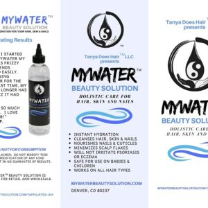 MYWater Beauty Brochure - Page 1